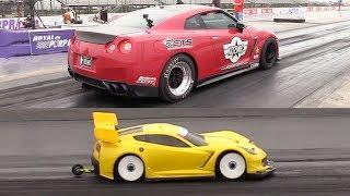RC Car vs Racecars