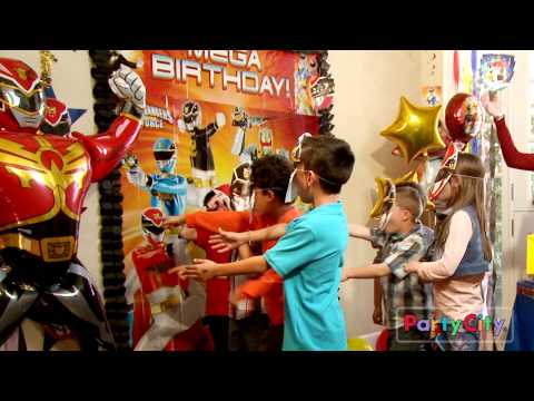 Throw a Megaforce Power Rangers Party!