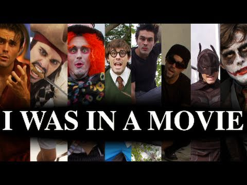 I WAS IN A MOVIE ft. Jack Sparrow Mad Hatter Jim Gaffigan Ace Ventura Potter Bam Cullen Batman