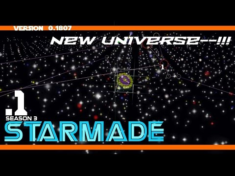 Star Made - Survival Multiplayer - New Universe! New Season! - 01