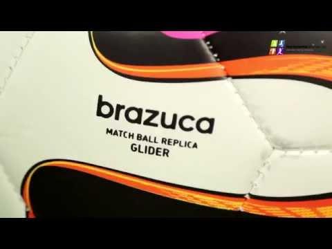 Piłka Nożna Adidas Brazuca 2014 Glider F93285