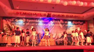 Mother Mary feast celebration - St. Michael Church Sharjah - Dance performance