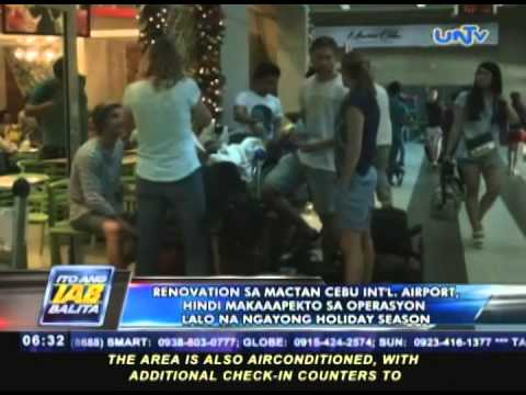 Renovation sa Mactan-Cebu International Airport, hindi maka-aapekto sa operasyon