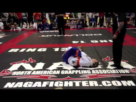 Bianca Lebosnoyani NAGA World Championship New Jersey with Gi Final Match