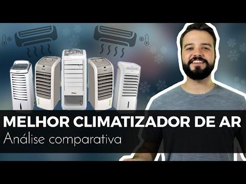 Qual é o Melhor Climatizador de Ar?   Análise com Consul. Electrolux. Midea e ++