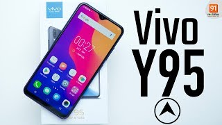 vivo Y95: Unboxing | Hands on | Price [Hindi हिन्दी]