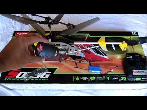 Syma S033G helicopter review. modifications. and comparison to Volitation 9053