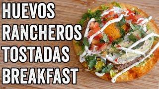 HUEVOS RANCHEROS TOSTADAS