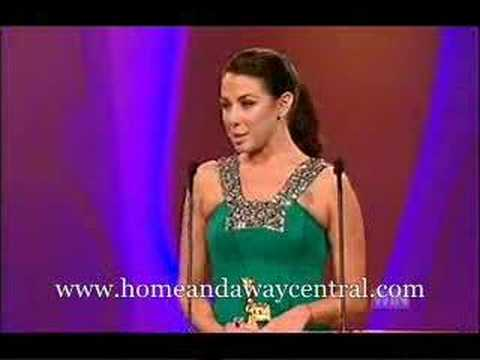 Kate Ritchie wins Gold Logie