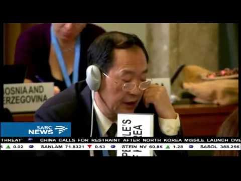 UN condemns N Korea ballistic missile launch