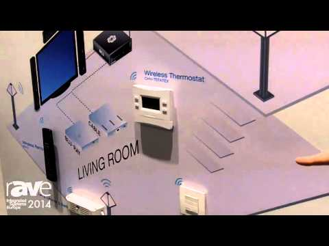 ISE 2014: Crestron Explains infiNet EX Wireless Range Residential Solutions