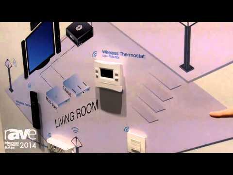 ISE 2014: Crestron Explains infiNet EX Wireless Range Residential Solutions