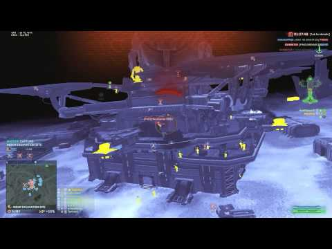 Planetside 2 - Liberator Fun - The Glory Hole video