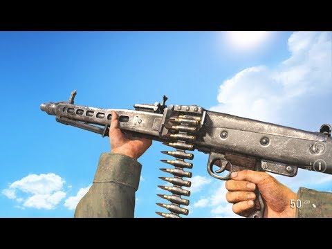 Call of Duty WW2 - ALL Weapons Inspections