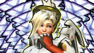 [Overwatch] ~ Pro Mercy Carry on TOXIC Players (Not Really, Also Diamond)