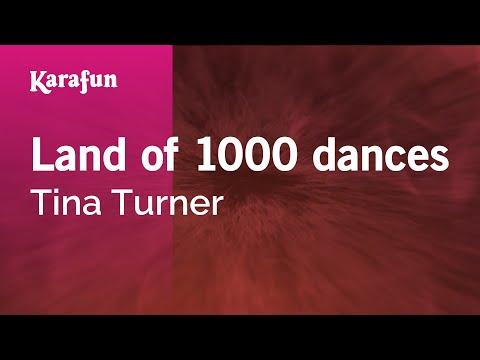 Karaoke Land of 1000 dances - Tina Turner *