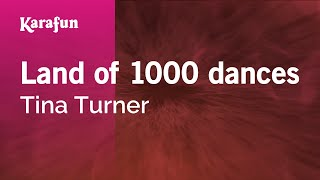 Watch Tina Turner Land Of 1000 Dances video