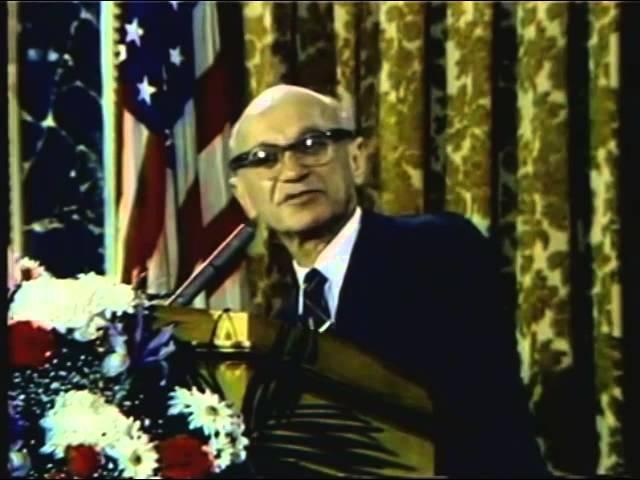 Milton Friedman talks about property taxes