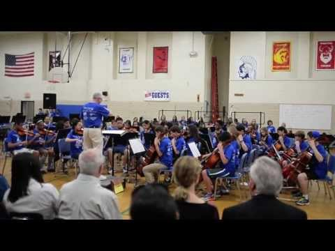 """Tappan Middle School Band and Orchestra perform during """"I Have a Dream"""" Concert"""
