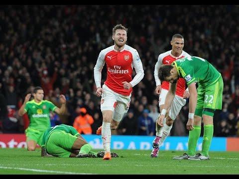 Arsenal Vs Sunderland 3-1 - All Goals & Highlights - 05.12.2015