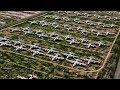 Aerial View Of The Aircraft Boneyard At Davis-Monthan AFB MP3