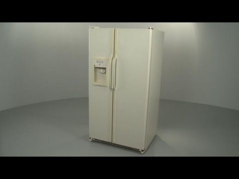 GE Side by Side Refrigerator Interior Panel Disassembly