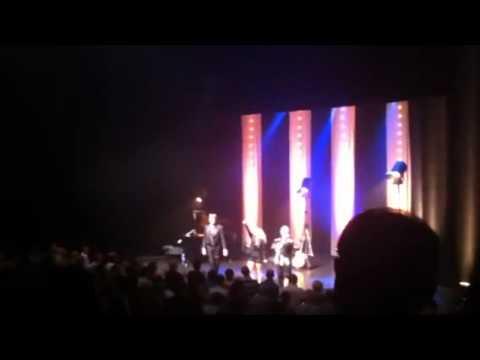Christelle Chollet «l'Entubée» Casino de Toulouse 30 mai 2012