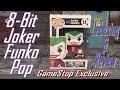 GameStop Exclusive 8 Bit Joker Funko Pop Unboxing Review mp3