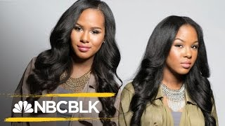 YouTube GlamTwinz, Kelsey and Kendra Murrell, Embrace Natural Beauty | NBC BLK | NBC News
