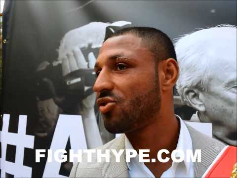 KELL BROOK DISCUSSES DECEMBER 6 RETURN:  WHOEVER IT IS ON DECEMBER THE 6TH, THEY'RE GETTING SOME