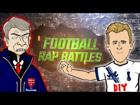 HARRY KANE vs ARSENE WENGER...FOOTBALL RAP BATTLE! (Tottenham vs Arsenal 2016 Cartoon Song)