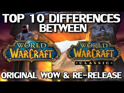 Download Top 10 Differences Between WoW Classic & The Original Release Mp4 baru