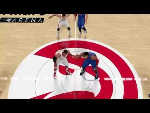 Nba 2k16 myGM Detroit Pistons 1st game win! (Ps4) Part 1