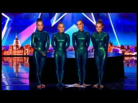 Девочки из Бурятии на тв-шоу Британия ищет таланты.