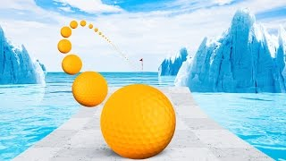 MOST CHALLENGING GOLF ON ICE COURSE! (Golf It)
