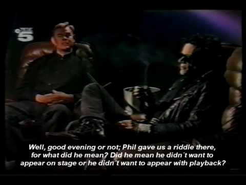 Offbeat Interview with Andrew Eldritch (german tv/english subtitled) 1/3