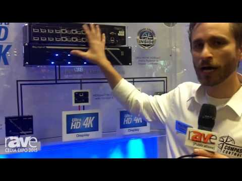 CEDIA 2015: Key Digital Intros Digital IQ Series of Matrix Switchers with HDBaseT & Compass Control