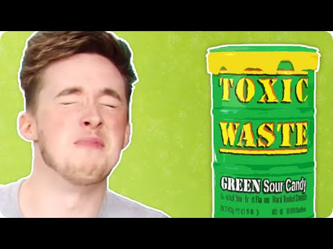 Irish People Try Sour American Candy