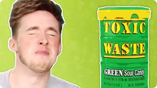 Irish People Try American Candy