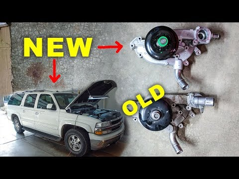 2003 Chevy Suburban Water Pump Removal & Install
