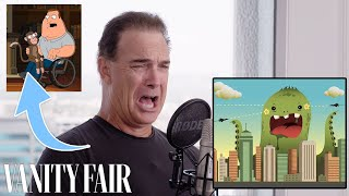 Patrick Warburton (Joe Swanson) Improvises 9 New Cartoon Voices | Vanity Fair