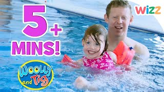 Woolly and Tig - Miss Lottie's Dance Class | Learning to Swim