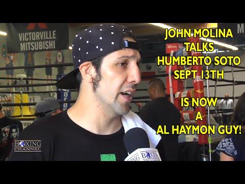 John Molina talks Soto  feels adding Santa Cruz has rejuvenated him