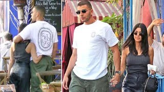 Kourtney Kardashian And Boy-Toy Younes Bendjima Show PDA On A Day-Date In L.A.