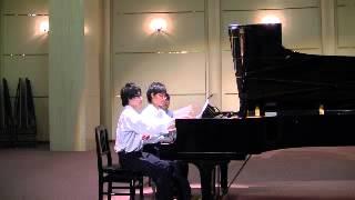 ハンガリー舞曲 第5番・第6番(J.ブラームス)・(Johannes Brahms)ピアノ連弾