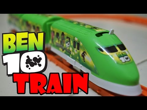 ben 10 train for children - Train for children - Ben ten train