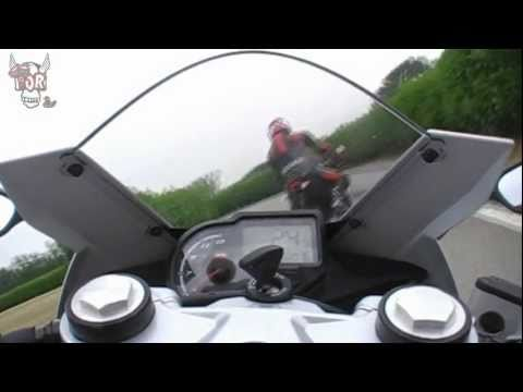 2011 Aprilia RS4 125 onboard at ASC Vairano circuit with TOR