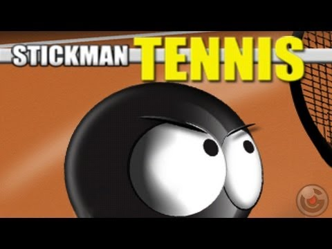 Stickman Tennis - iPhone/iPod Touch/iPad - Gameplay