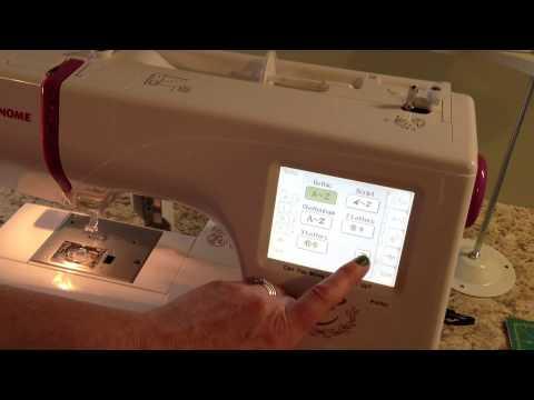 My Janome 350e Embroidery Machine