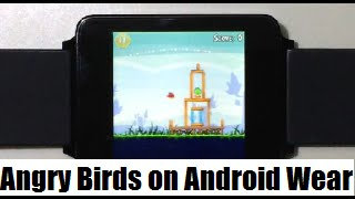 Angry Birds on Android Wear